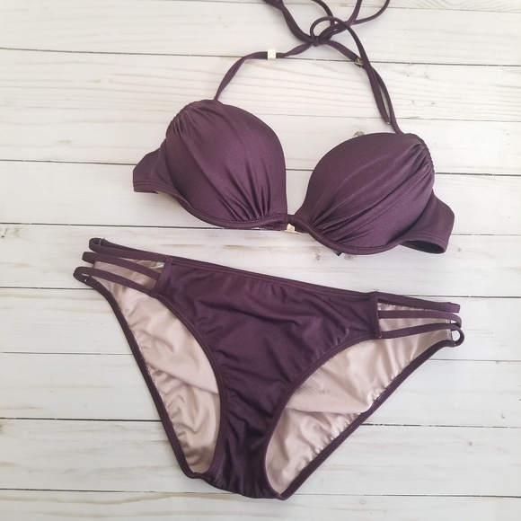Victoria's Secret Other - Victoria's Secret Deep Purple Bikini